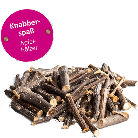 bunny Lust Auf Natur Knabber-Spass Apfelhölzer
