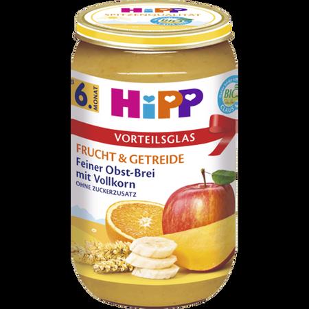 HiPP Feiner Obst-Brei mit Vollkorn