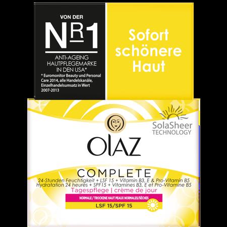 Olaz Essentials Complete Tagespflege LSF 15