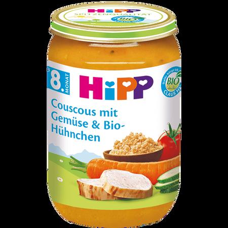 HiPP Couscous mit Gemüse & Bio-Hühnchen