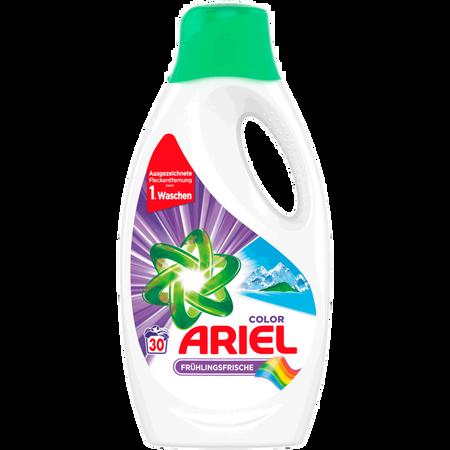 ARIEL Colorwaschmittel Frühlingsfrische flüssig