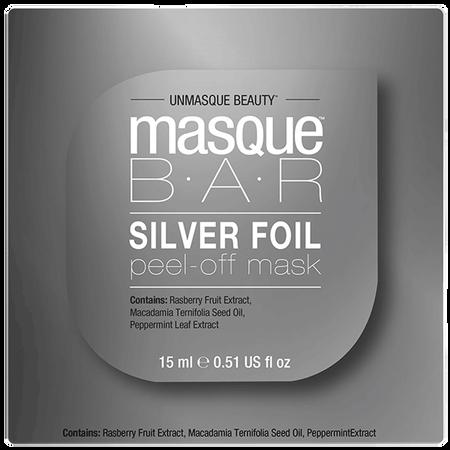 masque BAR Silver Foil Peel-off Maske Pod