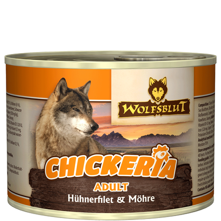 Wolfsblut Chickeria Adult Huhnfilet/Karotte