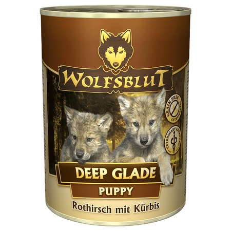 Wolfsblut Deep Glade Puppy/Rothirschfleisch