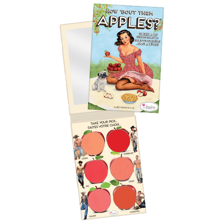 theBalm How 'Bout Them Apples Creme Rouge Palette