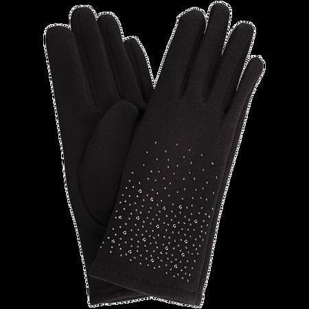 LOOK BY BIPA Handschuhe mit Strasssteinen schwarz