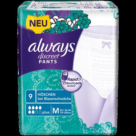always discreet Pants plus medium