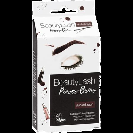 BeautyLash Power Brow Färbeset für Augenbrauen dunkelbraun