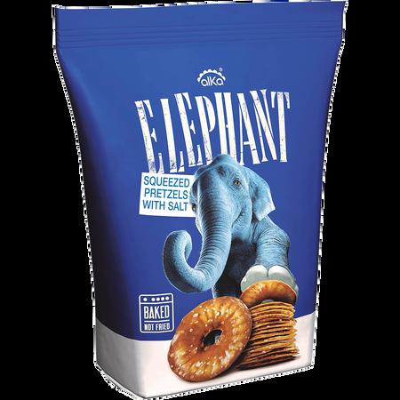 Elephant Pretzels Salz