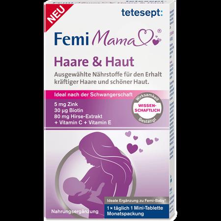 tetesept: Femi Mama Haare & Haut Tabletten