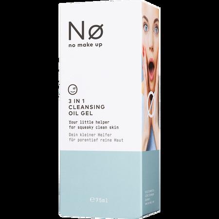 No Make Up 3in1 Cleansing Oil Gel
