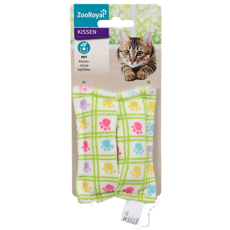ZooRoyal Katzenspielzeug Schmusekissen befüllbar