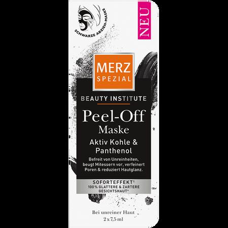 MERZ SPEZIAL Peel-Off Maske Aktiv Kohle & Panthenol