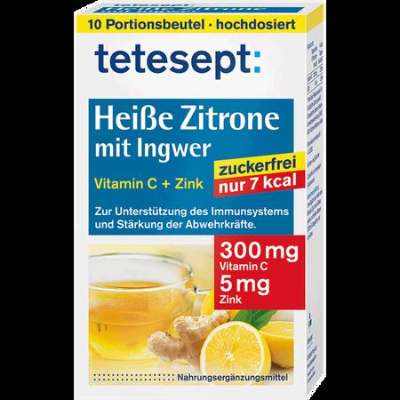 tetesept: Heiße Zitrone mit Ingwer