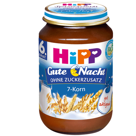 HiPP Gute-Nacht Brei 7-Korn