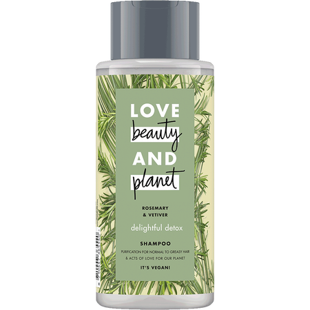 Love Beauty &  Planet Delightful Detox Shampoo Rosemary & Vetiver