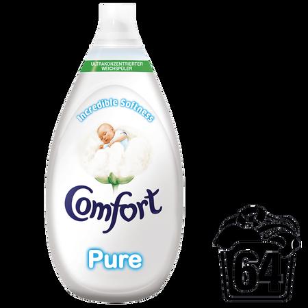Bild: Comfort intense Pure ultrakonzentrierter Weichspüler  Comfort intense Pure ultrakonzentrierter Weichspüler