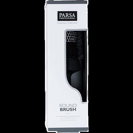 Parsa Round Brush mit Keratin und Aktivkohle