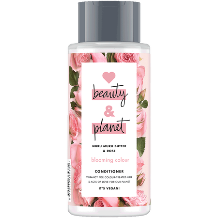 Love Beauty &  Planet Blooming Colour Conditioner Murumuru Butter & Rose