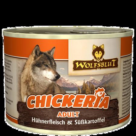 Wolfsblut Chickeria Adult/Hühnerfilet Süsskartoffel