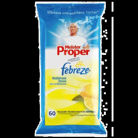 Meister Proper feuchte Reinigungstücher Mediterrane Zitrone