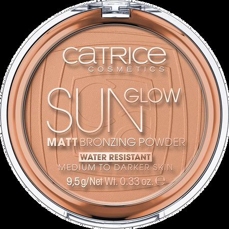 Catrice Sunglow matt Bronzing Puder wasserfest