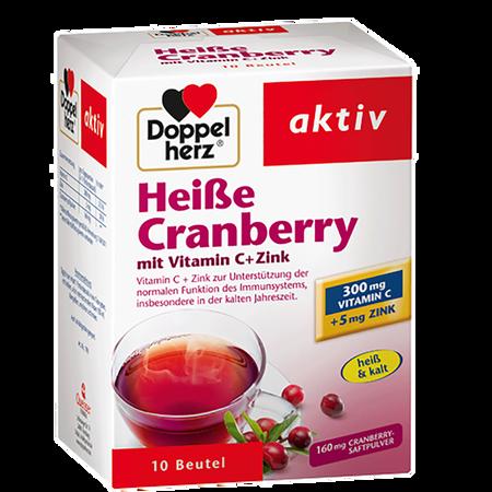DOPPELHERZ Heiße Cranberry