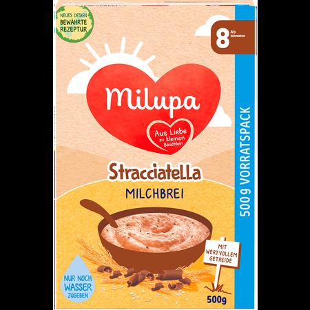Milupa Brei mit Stracciatella