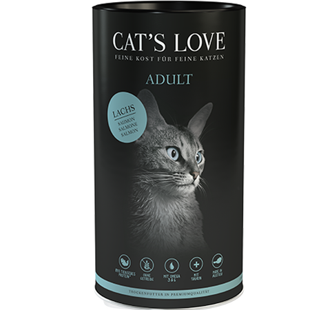 CAT´S LOVE Adult Lachs Trockenfutter
