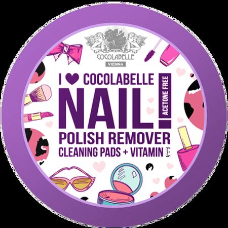 COCOLABELLE I Love Cocolabelle Nagellackentferner Pads
