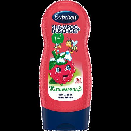 Bübchen Kindershampoo und -duschgel Himbärspaß