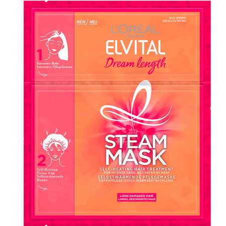 L'ORÉAL PARIS ELVITAL Dream Length Steam Mask selbstwärmende Pflegemaske