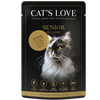 Bild: CAT´S LOVE Senior Ente Katzenfutter