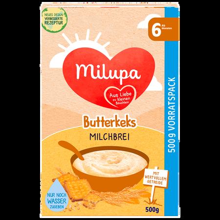 Milupa Brei mit Butterkeks