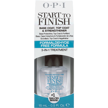 O.P.I Start To Finish Base & Top Coat Formaldehyde Free Formula