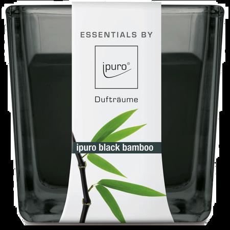 ipuro Duftkerze Essentials Black Bamboo