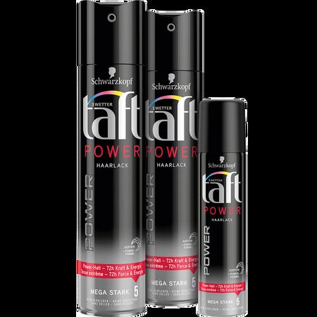 Schwarzkopf 3 WETTER taft Taft Power Haarlack Doppelpack + Mini