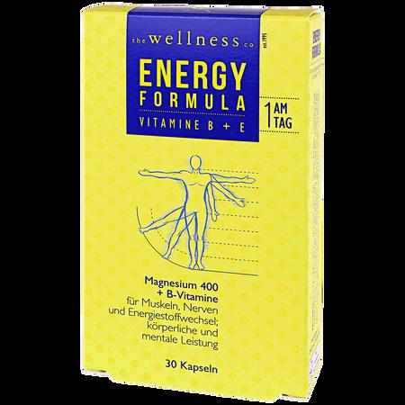 the wellness co. Energy Formula Magnesium 400 Kapseln