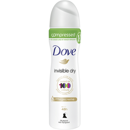 Dove compressed Deospray Invisible Dry