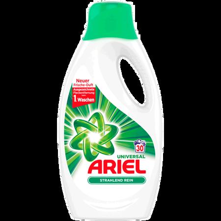 ARIEL Universal Vollwaschmittel Strahlend Rein flüssig