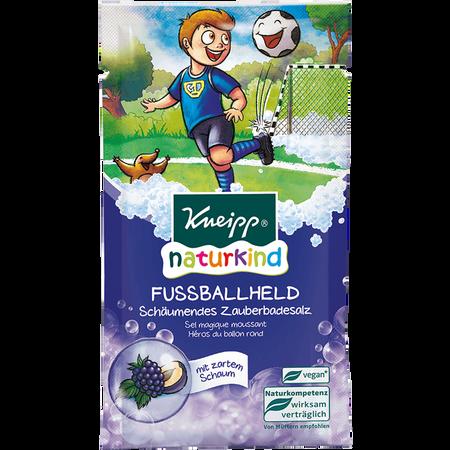 Kneipp Naturkind Schäumendes Kinder Badesalz Fußballheld