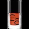 Bild: Catrice ICONails Gel Lacquer Nagellack orange is the new black