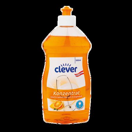 clever Spülmittel Orangenduft