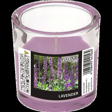 Gala Duftkerze Glas Lavendel