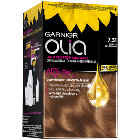 GARNIER Olia Coloration kühles goldblond