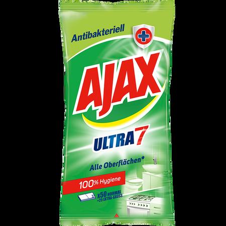 Ajax Ultra 7 Reinigungstücher antibakteriell