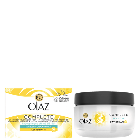 Olaz Essentials Complete Tagescreme sensitive