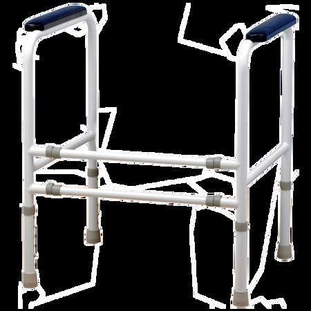 FRÜHWALD Toilettenstuhl-Stützgestell Stahl