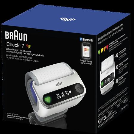 Braun BPW4500WE iCheck 7 Blutdruckmessgerät
