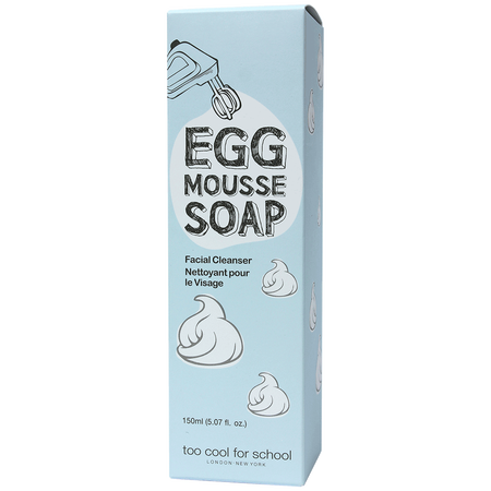 TCFS EGG MOUSSE Soap facial cleanser